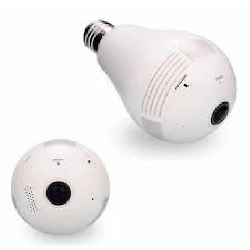 Câmera de Segurança Lampada Panorâmica HBTech