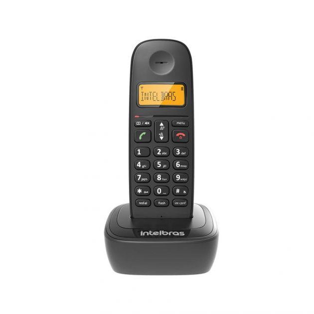 Telefone Sem Fio Com Identificador Ts2510 Id Preto - Intelbras
